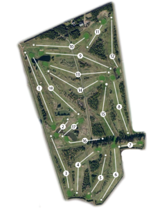 Lakes Course Map